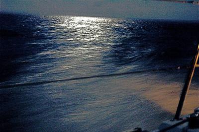 night watch, somewhere in the gulf....