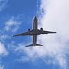 737 on takeoff