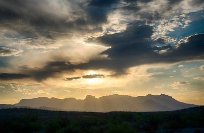 Chisos Mountain Sunset