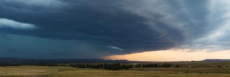 Storm near Hulett, Wyoming