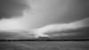 Cloud capped Bear Butte, South Dakota
