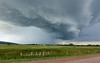 Strong storm just north of Buffalo Gap, SD