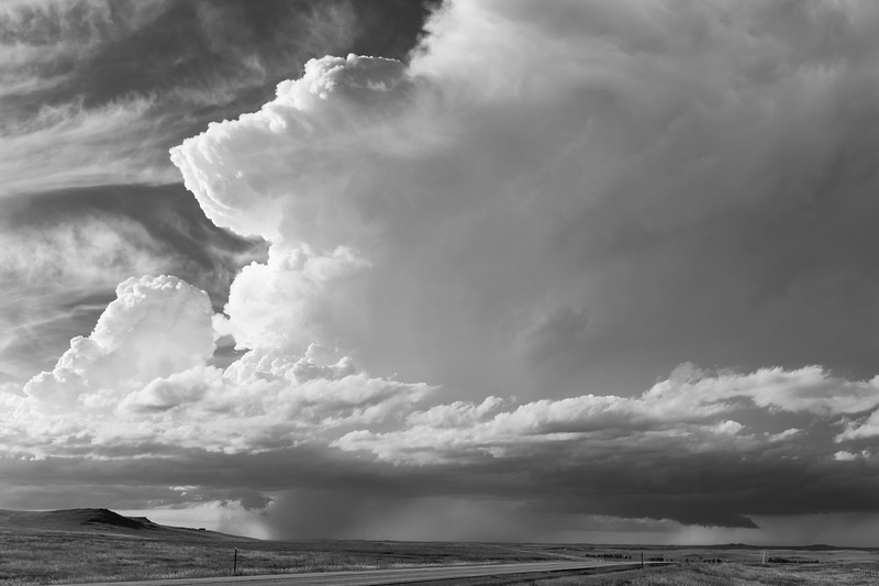 Storm near Bowman, North Dakota