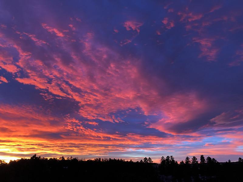 Rapid City, South Dakota sunrise
