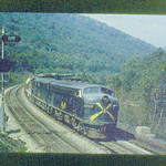 Baltimore & Ohio early DIESEL slide set (5) F's FA's<br /> 272531306_exs2t