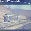Baltimore & Ohio early DIESEL slide set (5) F's FA's<br /> 272531555_SpwY7