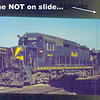 Baltimore & Ohio early DIESEL slide set (5) F's FA's<br /> 272531413_93DEa