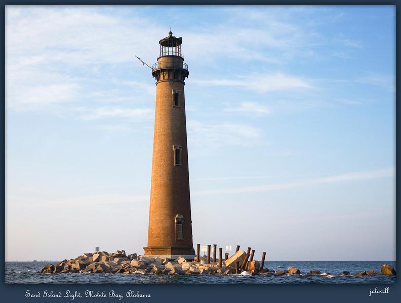 Sand Island Light, Mobile Bay, Alabama