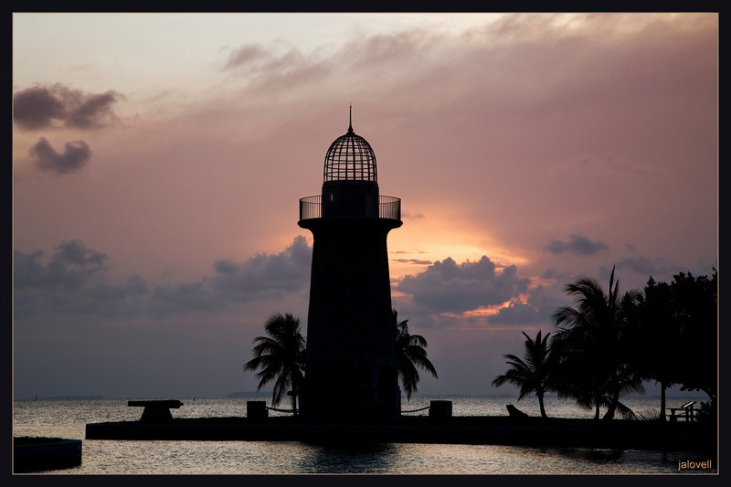 Boca Chita Light Sunset, Biscayne National Park, Florida