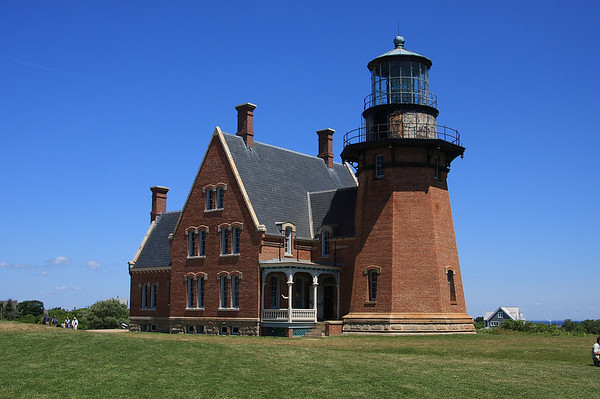 South Lighthouse, Block Island, RI.