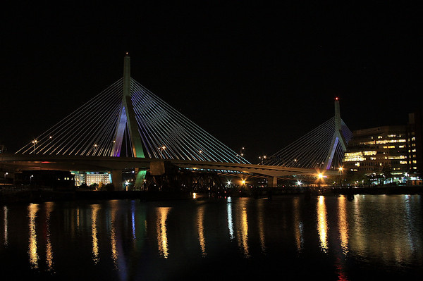 Zakim Bunker Hill Bridge, Boston, MA.