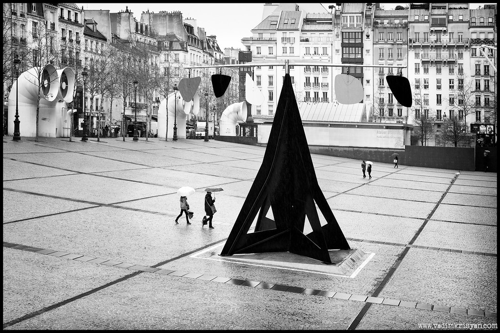 Calder and Beaubourg, Paris,2013