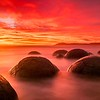Moeraki  boulders ,  New Zealand