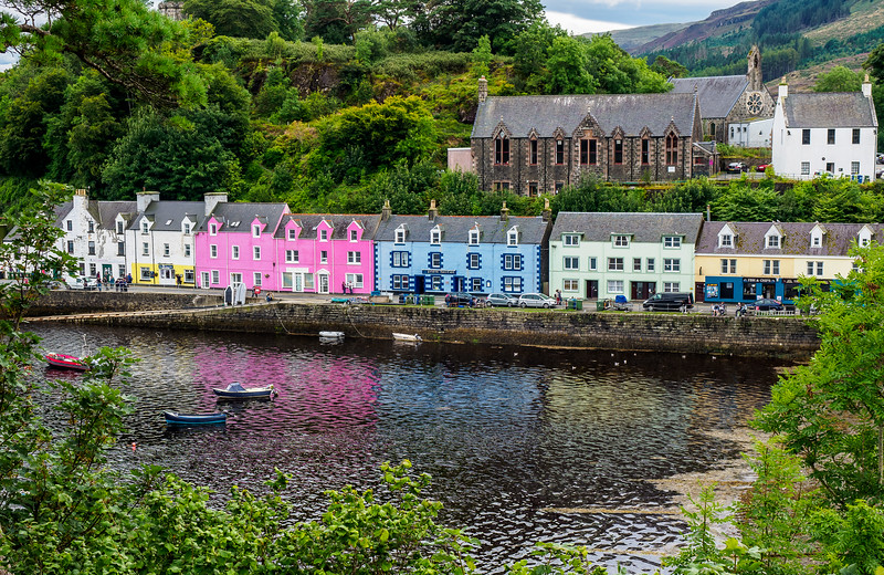 Portree in Isle of Skye,  Scotland