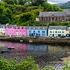 Portree in Isle of Skye,  Scotland