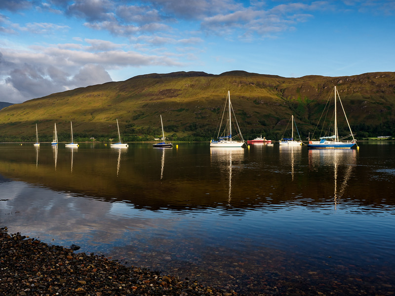 Early morning at Fort William ,  Scotland