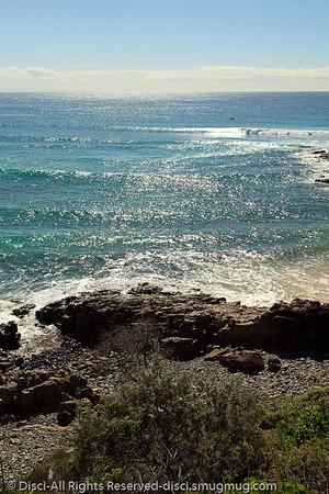 Granite Bay - Noosa National Park, Sunshine Coast, Queensland, Australia; 13 July 2010.