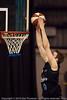 Tom Abercrombie with the athletic dunk - Gold Coast Blaze v New Zealand Breakers NBL basketball pre-season game; 4 October 2010, Carrara Stadium, Gold Coast, Queensland, Australia