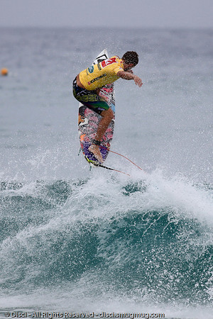 Aerial by Blake Ainsworth - Quiksilver Pro, Snapper Rocks, 27 February 2010