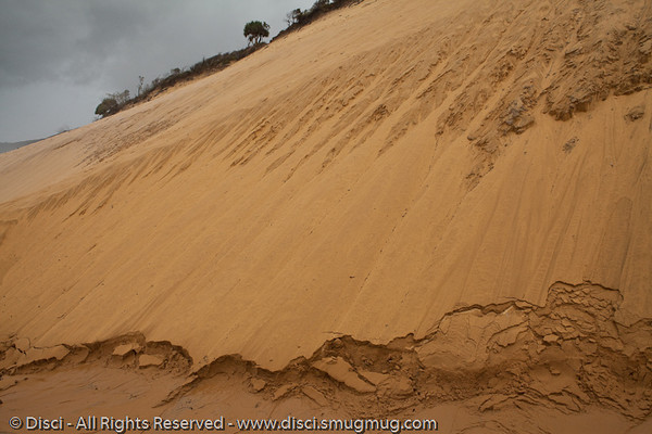 Coloured Sands of Rainbow Beach, Queensland, Australia; June 2010