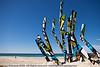 "Dune Grass, by Andrew Cullen - Swell Sculpture Festival, Pacific Parade, Currumbin Beach, Gold Coast, Australia; 15 September 2010. -  <a href=""http://www.swellsculpture.com.au"">http://www.swellsculpture.com.au</a>"