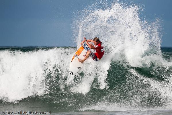 Taj Burrow - Burleigh Heads Surfing Photos - Breaka Burleigh Surf Pro, 20 February 2010