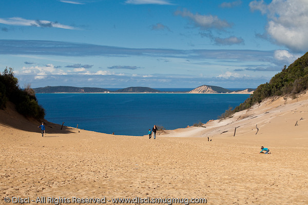 The stunning Carlo Sandblow - Rainbow Beach, Queensland, Australia; June 2010
