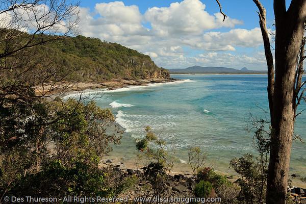 Tea Tree Bay - Noosa National Park, Sunshine Coast, Queensland, Australia; 13 July 2010.