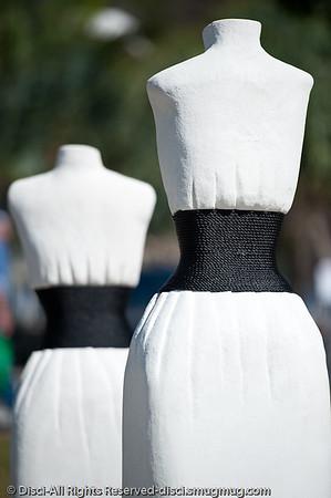 """Flirt, by Erica Gray - Swell Sculpture Festival, Pacific Parade, Currumbin Beach, Gold Coast, Australia; 15 September 2010. -  <a href=""""http://www.swellsculpture.com.au"""">http://www.swellsculpture.com.au</a>"""