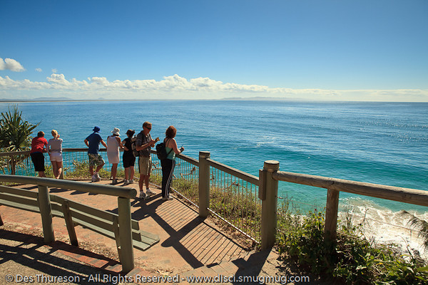 "The view from the ""Boiling Pot"" - Noosa National Park, Sunshine Coast, Queensland, Australia; 13 July 2010."