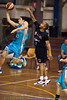 "Chris Goulding (""Bubbles"") finishes strongly on the break - Gold Coast Blaze v New Zealand Breakers NBL basketball pre-season game; 4 October 2010, Carrara Stadium, Gold Coast, Queensland, Australia"