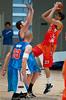Pre-Season NBL International Basketball: Gold Coast Blaze v Anyang KT & G Kites - Korea; Logan City, Queensland, Australia; 2010.