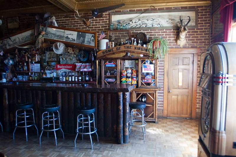 The Virginian Hotel Saloon<br /> Medicine Bow, Wyoming-0855