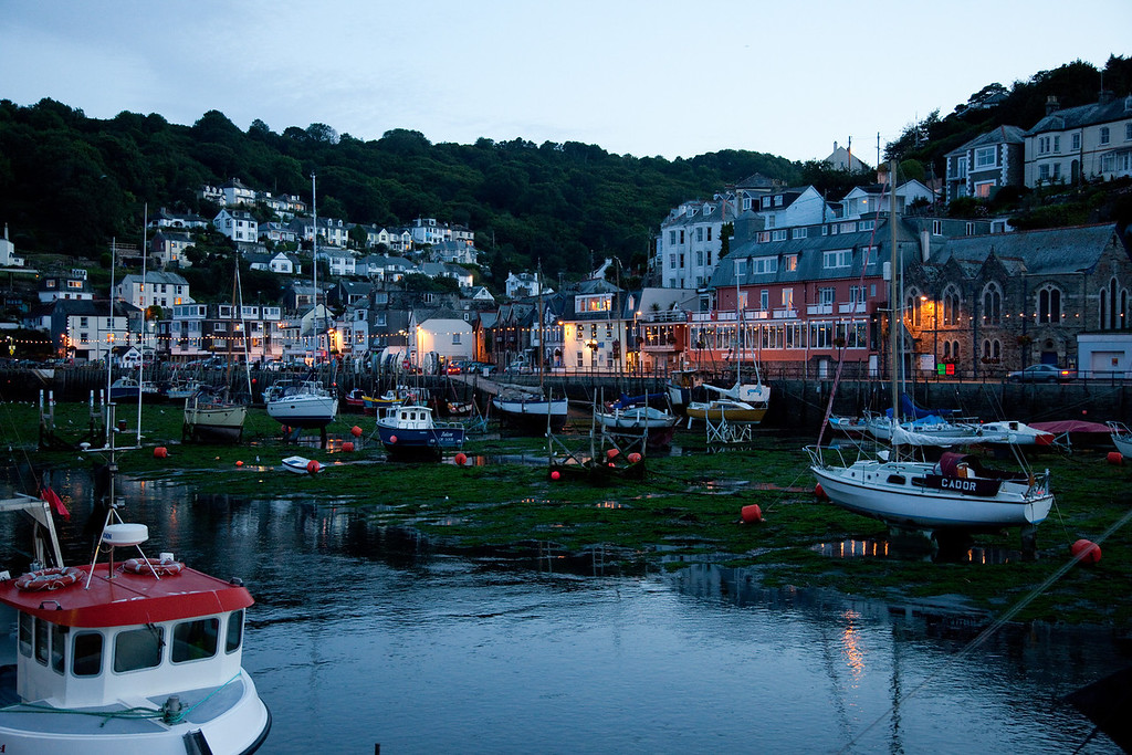 Looe Cornwall - early evening