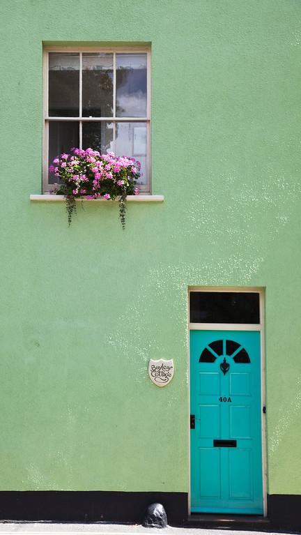 Colourful house