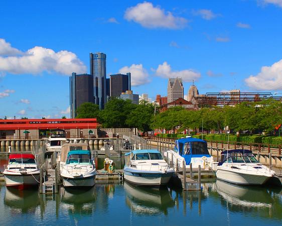 William Milliken State Park in Detroit Michigan.