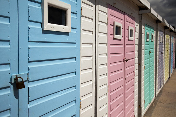 Lyme Regis, Beach Huts