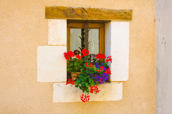 lovely window in a French village