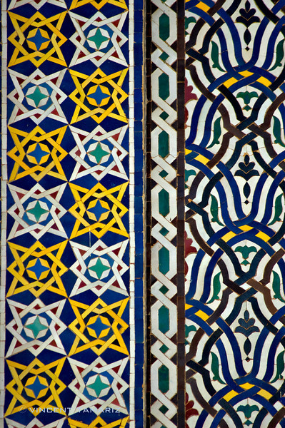 Tile Detail, Morocco