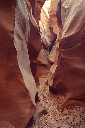 <center><b>Private Navajo Canyon</b></center>Slot Canyon-23