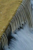 A slow shutter speed was used to show moving water on the Highland Park spillway.