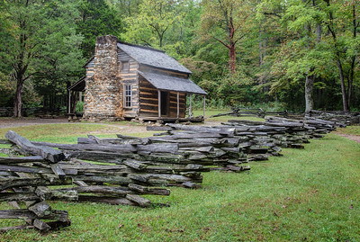 Oliver's Cabin in Cades Cove