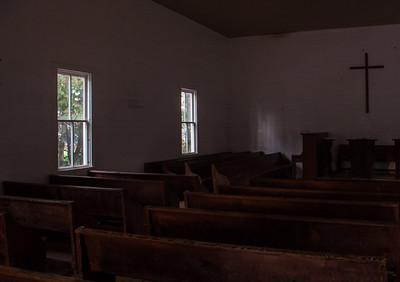 Inside Methodist Church