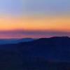 Cumberland Mountain evening sky