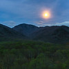Mt. LeConte Moonrise -  The Great Smoky Mountains National Park