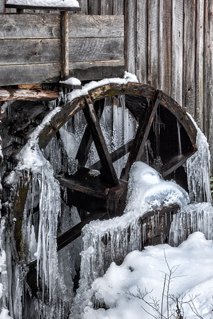 Frozen Cable Mill - Cades Cove