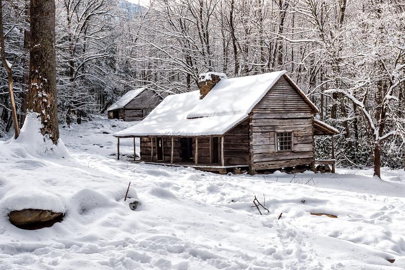 "Noah ""Bud"" Ogle Cabin - Roaring Fork Nature Trail"
