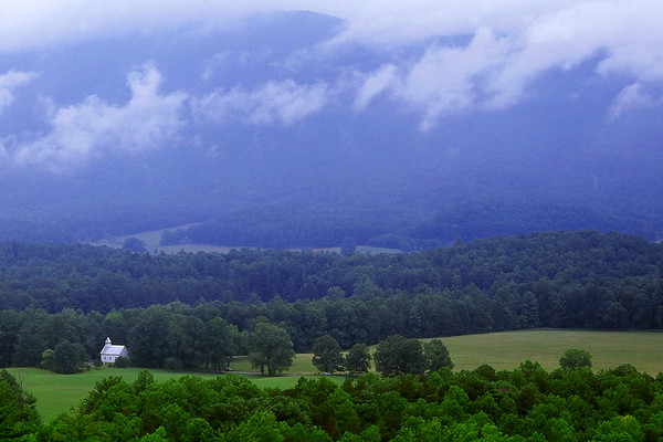 The Methodist Church in Cades Cove -  The Great Smoky Mountains National Park