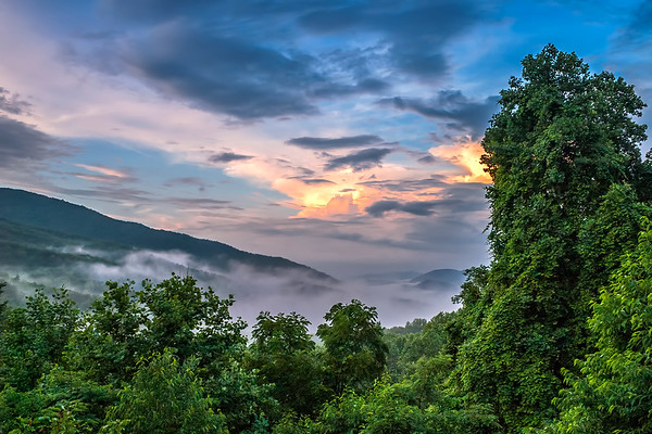 Sugarlands Overpass -  The Great Smoky Mountains National Park