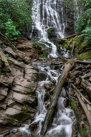 Mingo Falls - Great Smoky Mountains